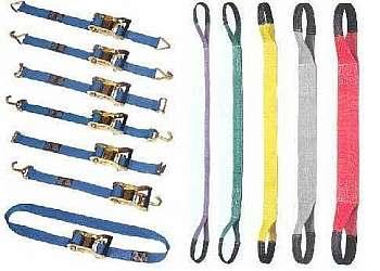 Inspeção de cintas de carga