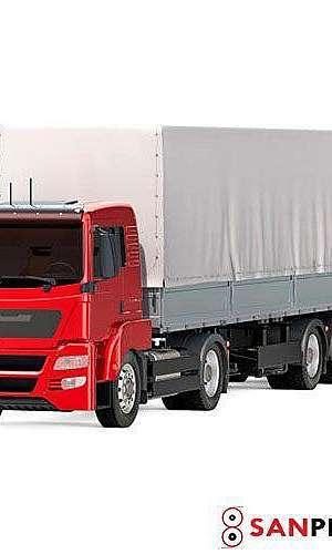 Lona sider para caminhão
