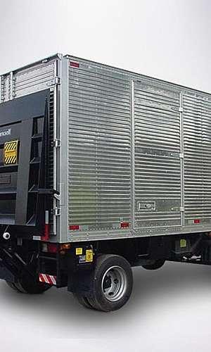 Plataforma de elevação para caminhão